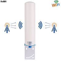 KuWFi 3G/4G LTE Antenna SMA Male 2.4Ghz External Antenna 3GBooster Antenna With Cable For GSM Signal Booster Repeater Wifi Rout