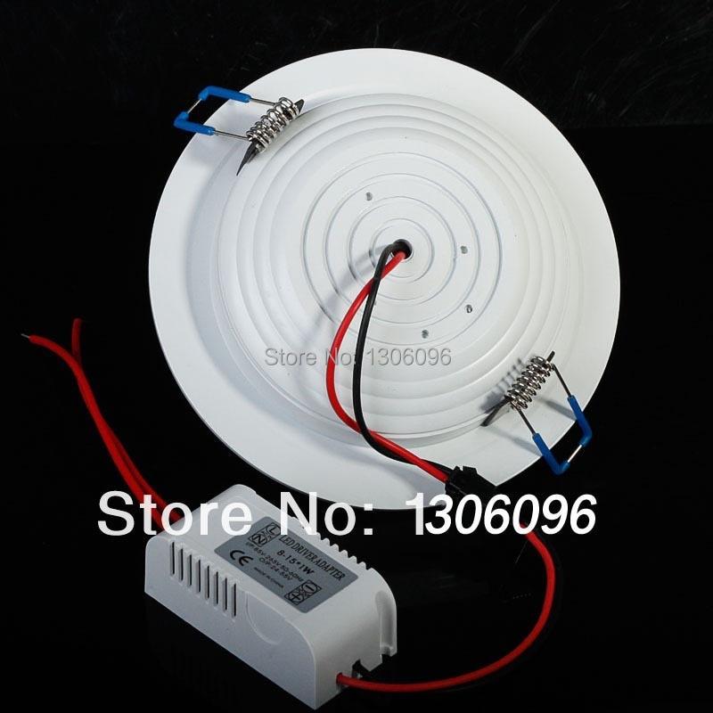 LED világító lámpa AC85-265 7W / 9W / 12W / 15W / 18W / 24W led - LED Világítás - Fénykép 5