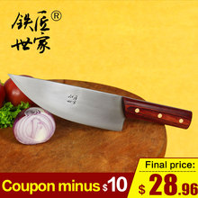 Chef slicing knife stainless steel professional butcher cleaver boning Chinese handmade kitchen кухонные ножи