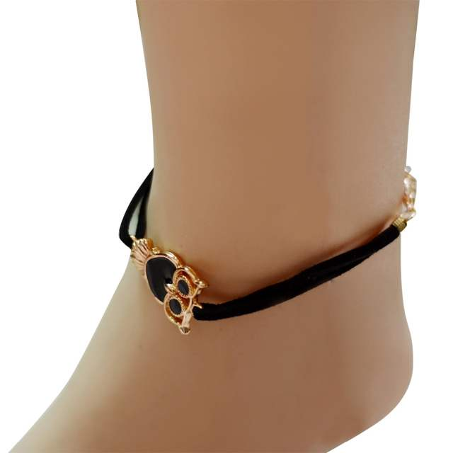 Gold Plated Chain Anklet Bracelet