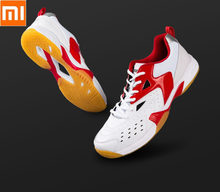 Xiaomi Badminton shoes men Beef tendon sneakers Non-slip breathable Slow cushioning Shock absorber badminton shoes(China)