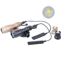 Tactical Unmark M300C Light Airsoft Flashlight 20mm Rail Mount For hunting
