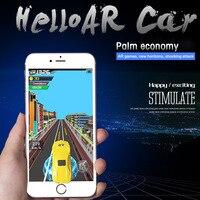 Novo Telefone Celular de Som e Luz Modelo de Carro Brinquedos Do Carro de Corrida Esportes AR Jogo de Corrida de Velocidade Do Jogo One-handed para o Smartphone