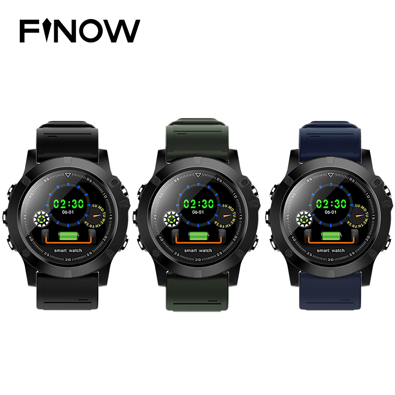 Finow L11 Smart Watch BT4.0 Waterproof IP68 Smartwatch Support Heart Rate Blood Pressure Sleep Monitoring Watch For Android IOS цена