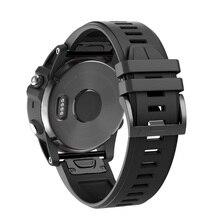 Para fenix 5 plus banda silicone macio 22mm pulseiras de relógio substituição para fenix 5 plus/fenix 5 instinto/forerunner935 approaach s60