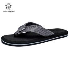 Летние мужские вьетнамки высокого качества; удобные пляжные сандалии; обувь для мужчин; мужские шлепанцы; Повседневная обувь размера плюс 47;