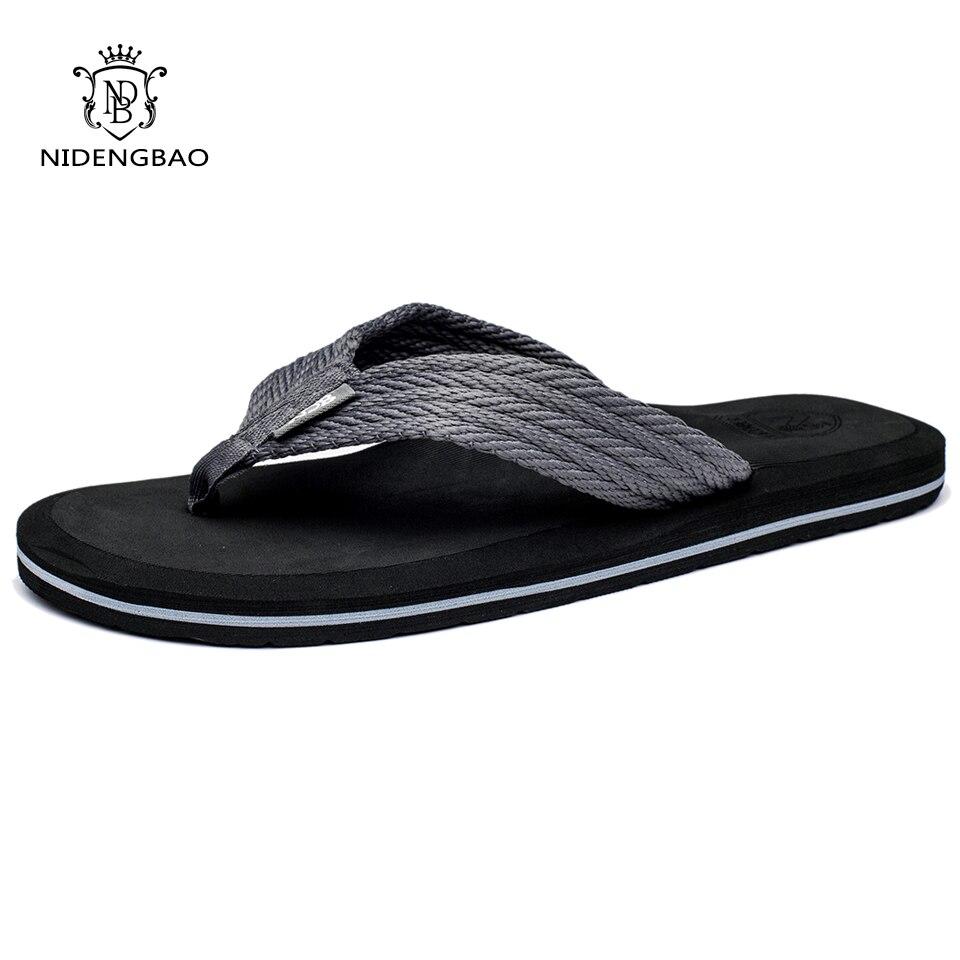 Sommer Männer Flip-Flops Hohe Qualität Komfortable Strand Sandalen Schuhe für Männer Männlichen Hausschuhe Plus Größe 47 Casual Schuhe Kostenloser verschiffen