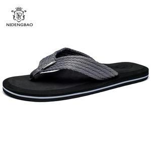 2da70c30c7cb1 NIDENGBAO Flip Flops Beach for Men Male Slippers Shoes