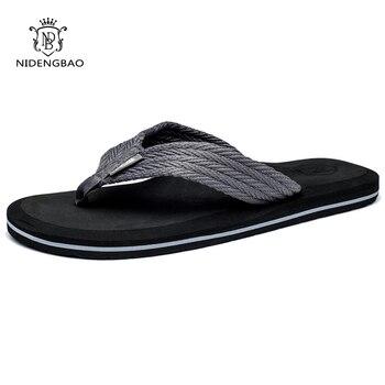 Zomer Mannen Slippers Hoge Kwaliteit Comfortabele Strand Sandalen Schoenen voor Mannen Mannelijke Slippers Plus Size 47 Casual Schoenen Gratis verzending