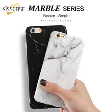 KISSCASE Fashion Marble Stone Case For iPhone 5 5s SE 6 6s Plus Soft Silicon Cover X 10 7 8 Protective Capinhas