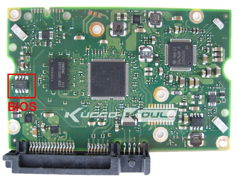 hard drive parts PCB board printed circuit board 100638869 for Seagate 3.5 SATA hdd data recovery ST1000NM0001 hard drive repair