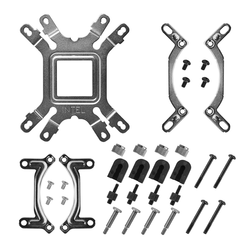 1 set DIY water cooling fitting for radiator All-Platform buckle Or AM4 for CPU fans water cooling accessories 390mm cylinder water tank sc600 pump all in one set maximum flow 600l h computer water cooling radiator