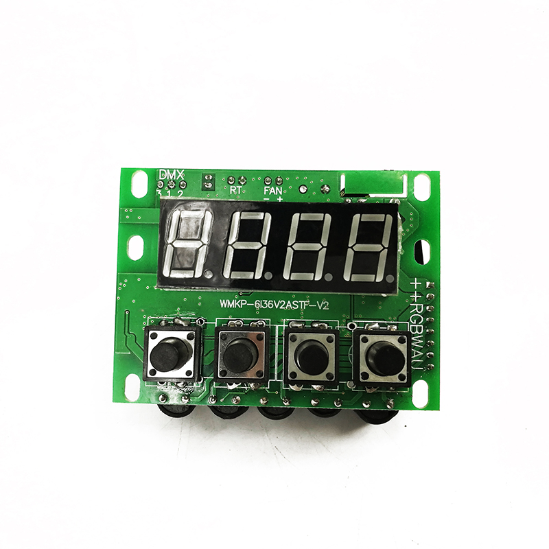 Mainboard LED 18x18W RGBWA+UV Light Motherboard Stage Lights Spare Part Professional Accessories Dmx Controller 6/10 Channel