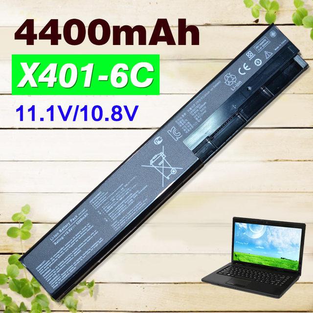 6 cells Laptop Battery for asus F401 F501 F301 S401 S501 S301 X401 X501 X301 A31-X401 A32-X401 A41-X401 A42-X401 X501A