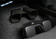 Lapetus Car Styling Sedia Sedile Sotto Aria Condizionata AC Vent Molding Copertura Trim Per Renault Koleos Kadjar 2017 2018 2019 di plastica