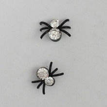 Athemis Spider style font b sex b font magnet earrings Diameter about 6mm real font b