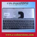 Z500 С ГЭРИ РАМКА Z500 клавиатуры Ноутбука RU Клавиатура для Lenovo 25206529 русская клавиатура ноутбука