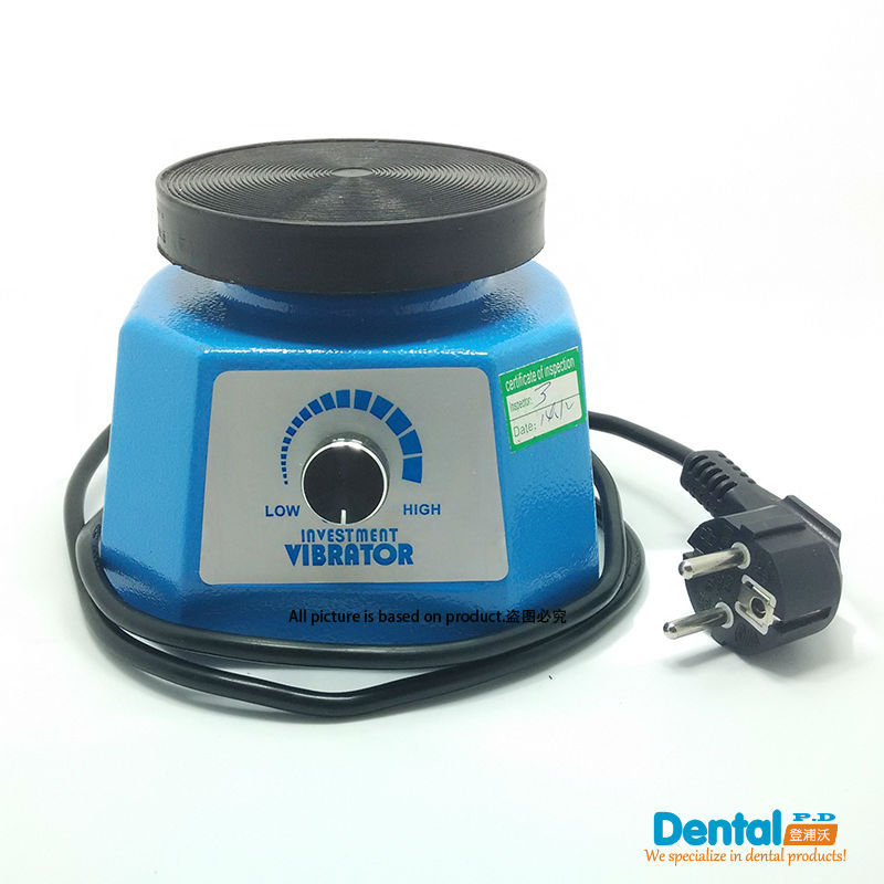 Band New Dental Instrument Plaster Vibrator 110V&220V Dental Laboratory Tool Excellent Quality With Reasonable dental die stone cutting plaster model 220v only