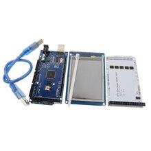 """Livraison gratuite! 3.2 """"TFT LCD Tactile + TFT 3.2 pouce Bouclier + Mega 2560 R3 avec usb câble pour kit"""