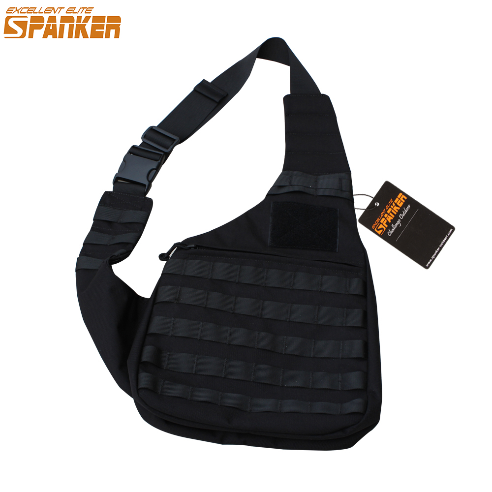 Outdoor Bags Tactical Inclined Shoulder Bags Military Nylon Modular Waterproof Molle Travel Bag
