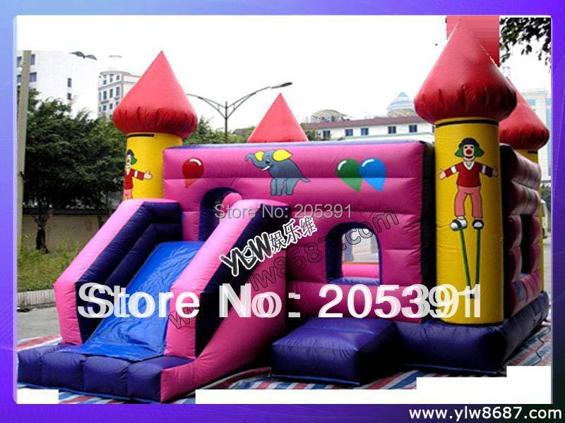 inflatable castle and bouncer,inflatable trampoline toys,children jumping bed commercial inflatable bouncer jumping bounce house inflatable trampoline with slide for party