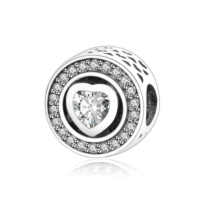 2018 valentines day diy jewelry fit original pandora charm bracelet 100 925 sterling silver charm