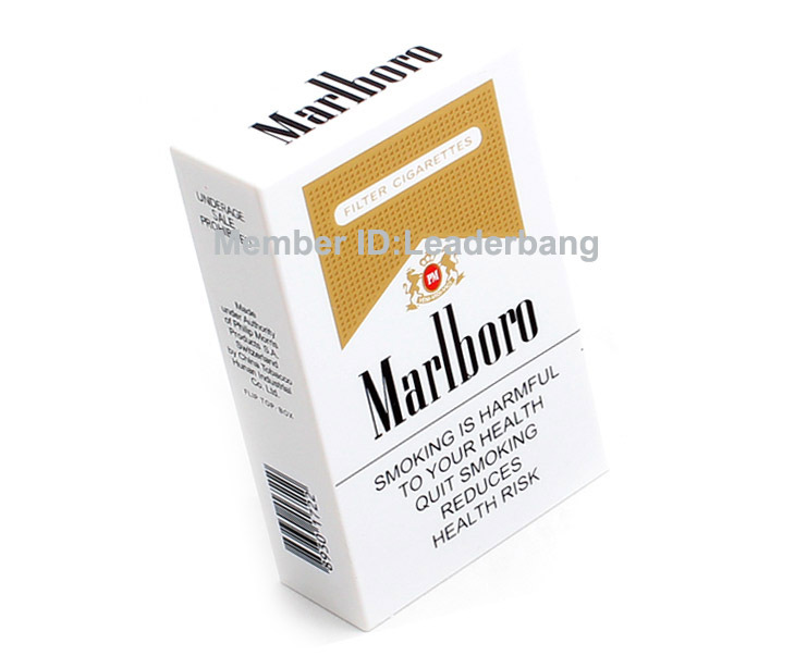 Marlboro Cigarette power bank backup power 5600mah external