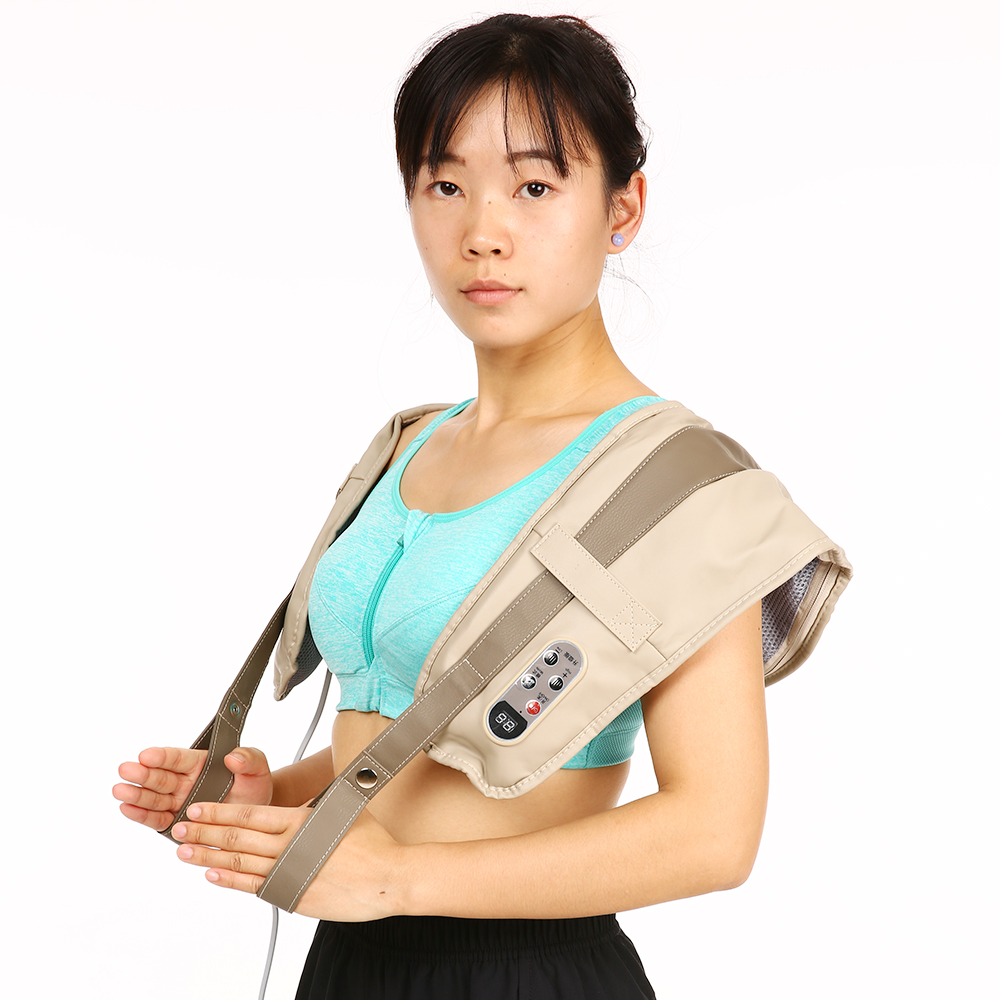 Carevas Tapping Neck back Shoulder Massager Full Body Electric Vibrating Massage for Anti stress Relax Antistress Treatment