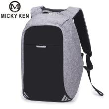 Micky Ken Brands 2019 New Creative Anti-theft Backpack Usb Charger Business Computer Bag Schoolbag Waterproof Travel Backpack