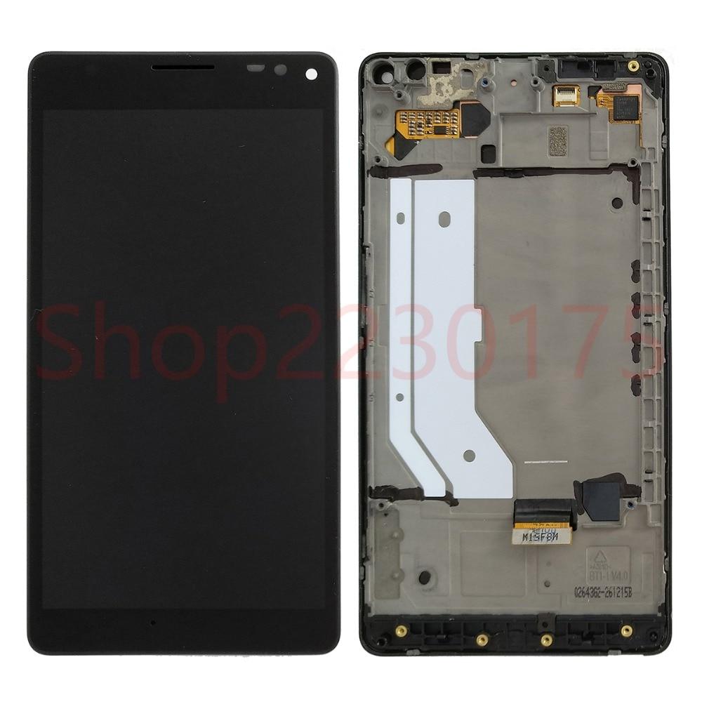 Для Nokia Lumia 950 XL RM-1116 ЖК дисплей сенсорный экран планшета Ассамблеи рамки Запчасти для авто