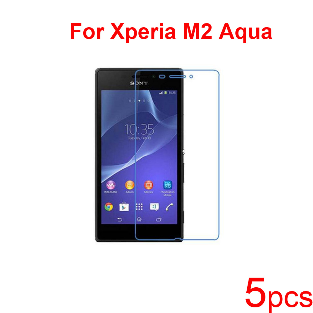 5pcs Clear/matte/Nano anti explosion Screen Protector Guard Protective Films for SONY Xperia P LT22i/M2 Aqua/Acro S LT26W LCD