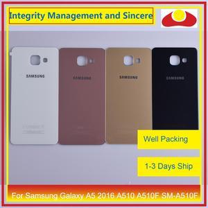 Image 1 - 50 teile/los Für Samsung Galaxy A5 2016 A510 A510F SM A510F Gehäuse Batterie Tür Hinten Rückseite Fall Chassis Shell