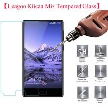 ФОТО 2.5d 0.26mm 9h leagoo kiicaa mix tempered glass 100% high quality premium screen protector film for kiicaa mix phone glass
