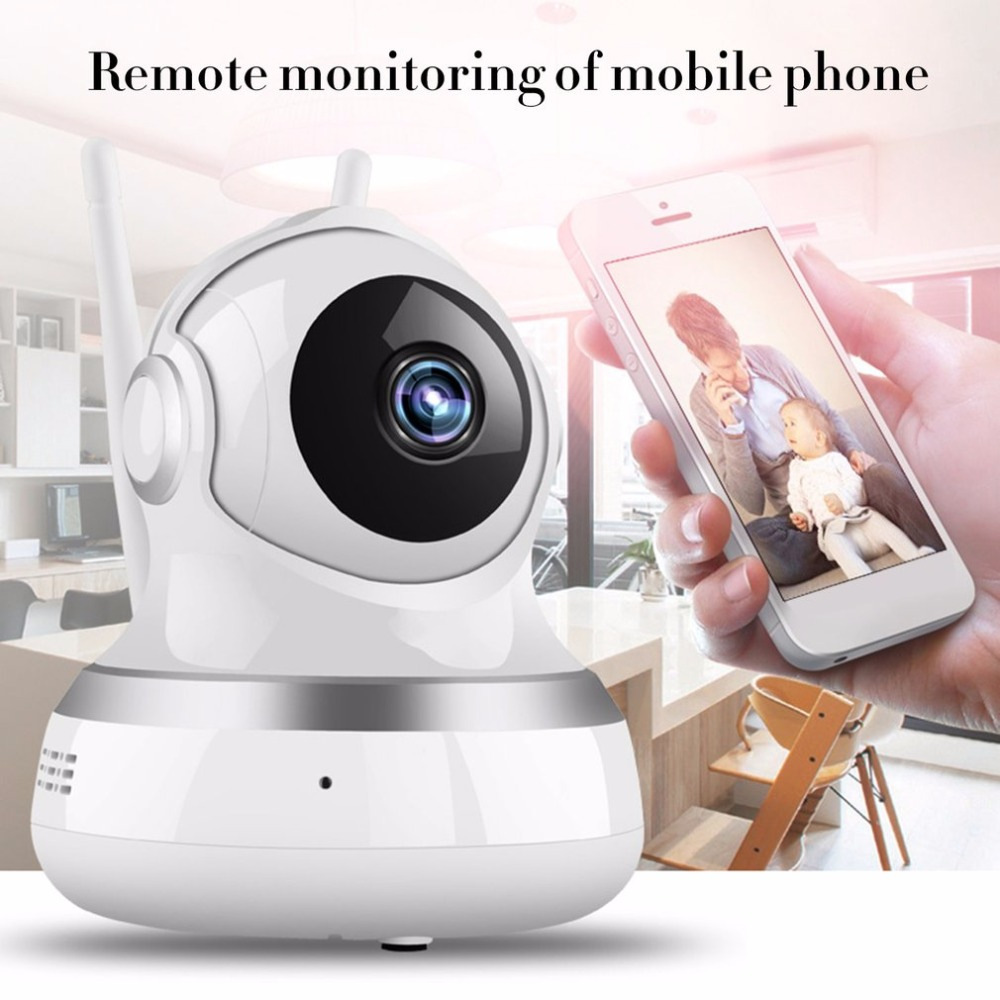 LESHP Wireless IP Camera 1080P HD Intelligent Monitor Home Security With LED Smart WiFi Audio CCTV Camera Dual-Aerials leshp smart home security camera system personal wireless lighting table lamp smart 2mp image sensor wifi mini ip camera