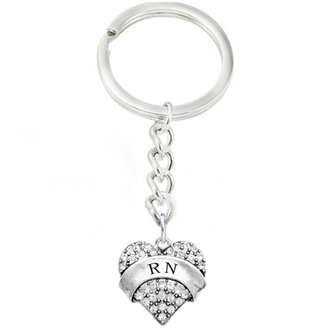 Double nose fashion nurse charms hospital jewelry rn heart shaped double nose fashion nurse charms hospital jewelry rn heart shaped letter words stones tile keyring for altavistaventures Gallery