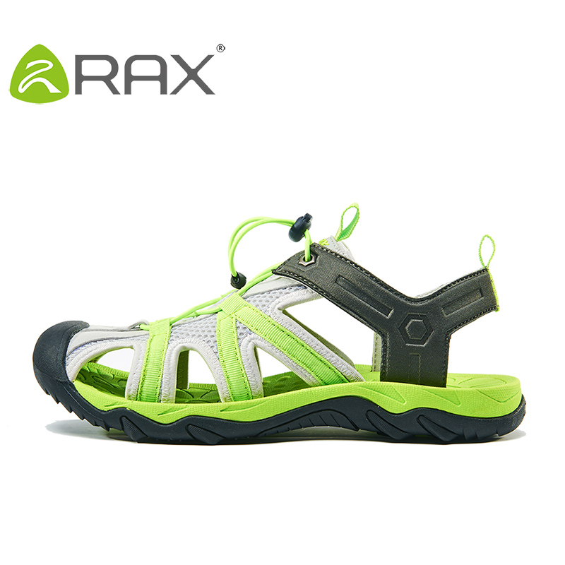 RAX Mens Hiking Shoes Sandals Breathable Summer Men Sneakers Outdoor Aqua Trekking shoes For Men Walking Moutain Hiking Sandals rax 2015 mens outdoor hiking shoes breathable mesh suede trekking shoes men genuine leather sneakers size 39 44 hs25