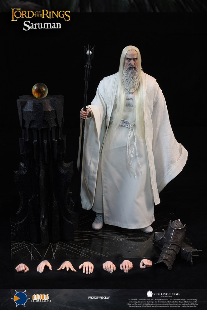 1/6 scale figure doll The Lord of the Rings Saruman the white.12 action figures doll.Collectible figure model toy gift 1 6 scale full set soldier the lord of the rings elven prince legolas action figure toys model for collections