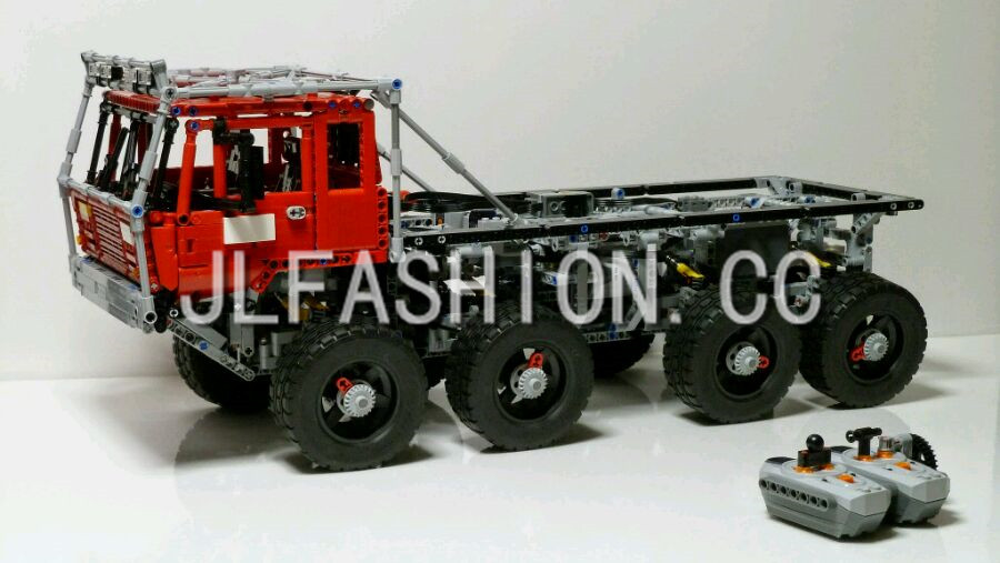 NEW BLCOKS 23012 2839Pcs Genuine Technic Series The Arakawa Moc Tow Truck Tatra Educational Building  8520 Toys lepin new lepin 23012 2839pcs genuine technic series the arakawa moc tow truck tatra 813 educational building blocks bricks toys gift