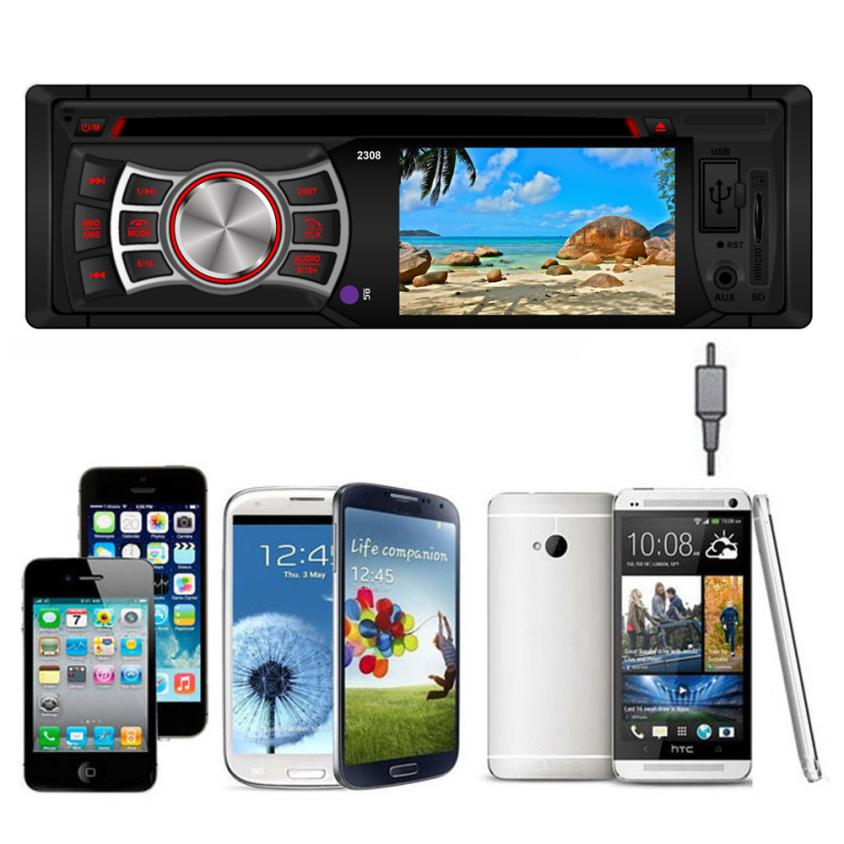 CARPRIE Car MP3 Player Remote Control 3-inch wide-screen In-Dash FM Rear view Aux Input DVD/CD USB MP3 Receiver Players    Nov27 transctego dvd player portable car tv 13 9 inch big player lcd screen for game fm dvd vcd cd mp3 mpeg4 gamepad anolog tv antenna