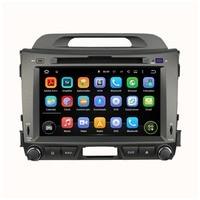 Android Quad core 8 дюймов для автомобиля KIA Sportage DVD радионавигационной 2din DVD Sportager gps навигации wi fi