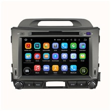 Android Quad core 8 inch for KIA Sportage Car DVD radio navigation 2din DVD Sportager GPS Navigation wifi