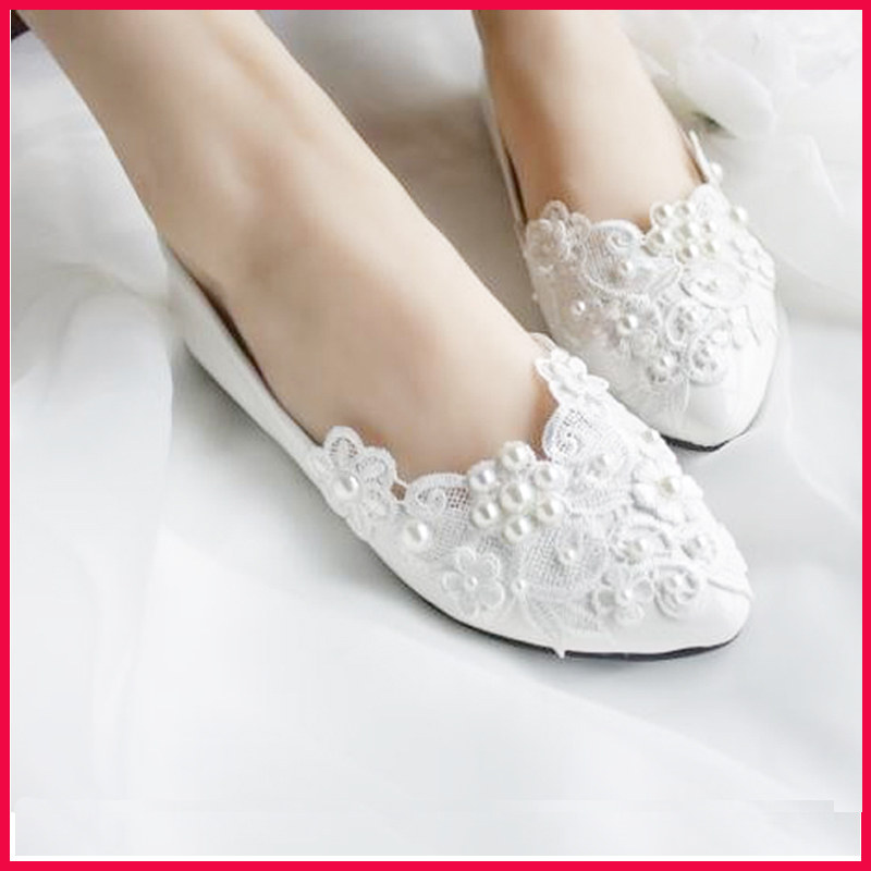 Images of White Flats For Wedding - Weddings Pro