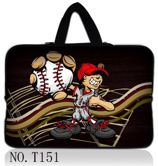 BaseBall Support customization HD color printing notebook laptop bag sleeve 9.7 10.1 12 13 14 15 17 for ipad macbook pro/air