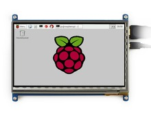 Modules 7inch HDMI LCD Capacitive Touch Screen Display Shield Panel for Raspberry Pi Beaglebone Black Banana pi Supports Various