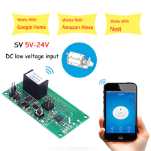 Sonoff SV WiFi Wireless Switch Module Safe Voltage Timing Support Secondary Development 5-24V for IOS Android Smart Home