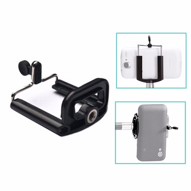 Camera Statief Houder Monopod Mobiele Telefoon Aanpassing Houder Stand Selfie Stick Mount Clips Beugel