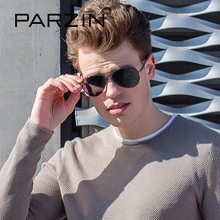 PARZIN Men's Brand Polarized Sunglasses With Box 2017 New Fashion Elegant Glasses Male Driving Spectacles 8023