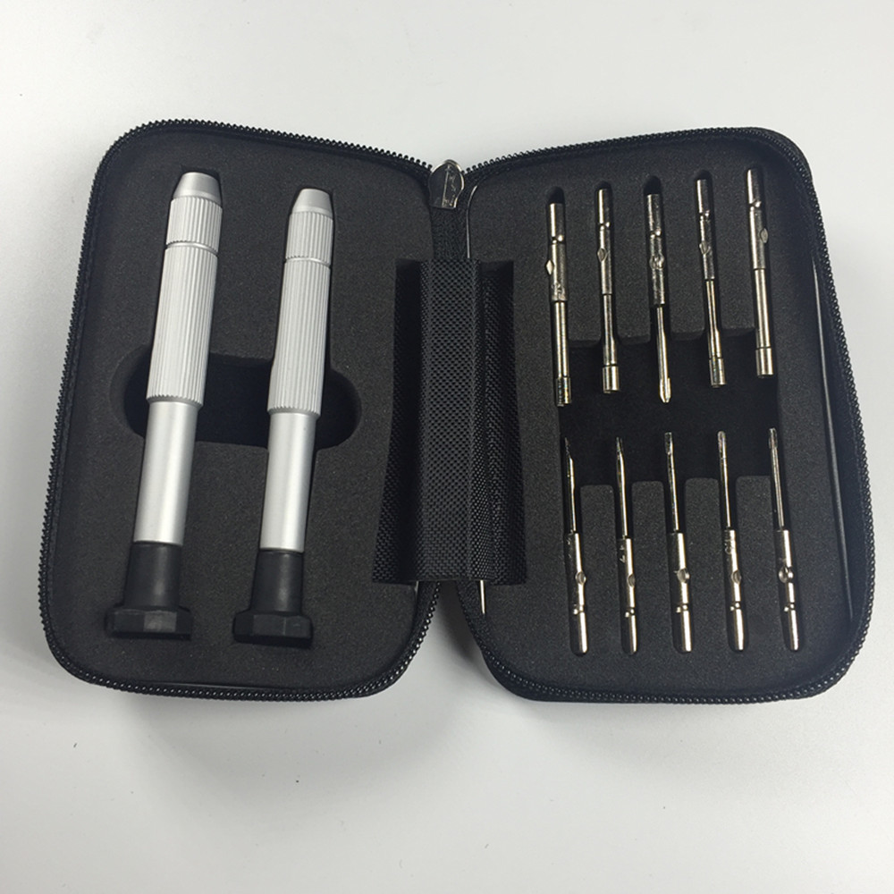 Multi-function Eye Glasses Screwdriver Screw Nut Driver Repair Kit Tool
