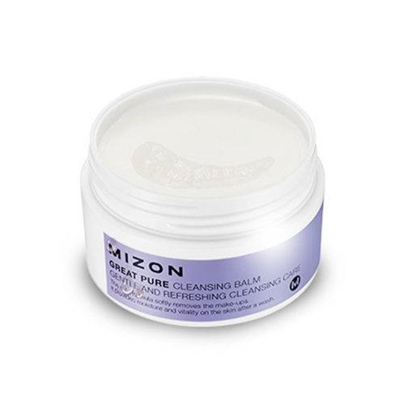 Mizon Great Pure Cleansing Balm - 80ml Original Korea Facial Scrub Cream Face Exfoliating Remove Makeup Whitening Gel Skin Care