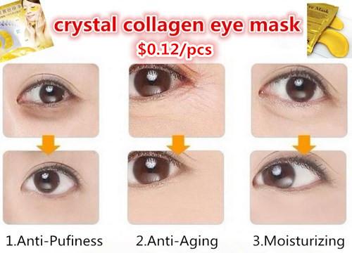 crystal collagen eye mask